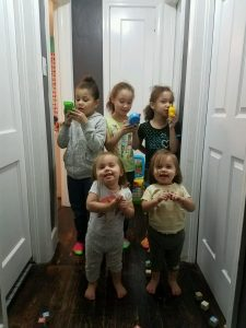 All the girls before Emma Grace